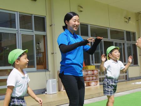 子どもたちの「先生大好き!」という声が聞ける最高の仕事です。